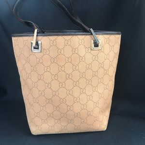 Authentic Gucci bag purse gg monogram